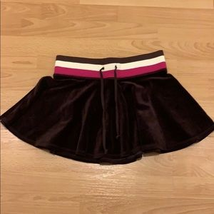 Juicy couture velvety skirt